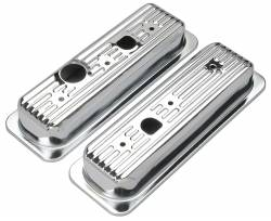 Trans-Dapt Performance Products - Trans-Dapt Performance Products Chrome Plated Steel Valve Cover 9458