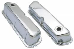 Trans-Dapt Performance Products - Trans-Dapt Performance Products Chrome Plated Steel Valve Cover 9237