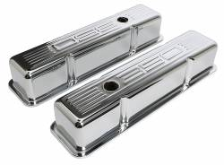 Trans-Dapt Performance Products - Trans-Dapt Performance Products Chrome Plated Steel Valve Cover 9841