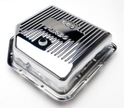 Trans-Dapt Performance Products - Trans-Dapt Performance Products Chrome Transmission Pan 9198