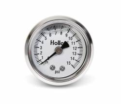 Holley Performance - Holley Performance Mechanical Fuel Pressure Gauge 26-504