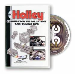 Holley Performance - Holley Performance Carburetor Installation And Tuning DVD 36-381