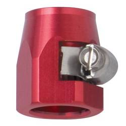 "Fragola - FRA280004 -  Fragola E-Z Clamp Hose Ends, -4AN (.505"" ID), Red"