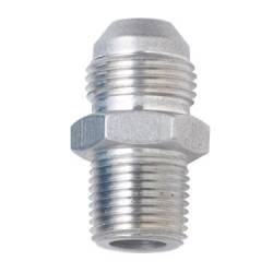 "Fragola - FRA481604-CL - Fragola AN Male To Male NPT Adapter, Straight, Clear, 4AN To 1/8"" NPT"
