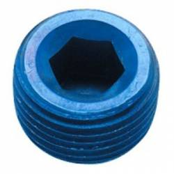 "Fragola - FRA493201 -  Fragola Internal Pipe Plug, Blue,1/16"" NPT"