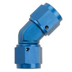 Fragola - FRA - FRA496210 - Fragola Female To Female 45 Degree Coupler - 10AN - Blue