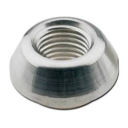 "Fragola - FRA499504 -  Fragola Weld Bung With .750"" Diameter Step,Aluminum -  Female Thread,1/4"" NPT"
