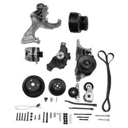"Chevrolet Performance Parts - 19418818 - Small Block Chevy Serpentine Accessory Belt Drive System ""Deluxe With Air"""