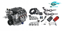 Chevrolet Performance Parts - 19257230 - GM LS3 6.2L Gen IV E-ROD Engine Package (Automatic Transmission)