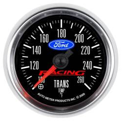 AutoMeter - AutoMeter Ford Racing Series Transmission Temperature Gauge 880314