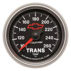 AutoMeter - AutoMeter GM Series Electric Transmission Temperature Gauge 3657-00406