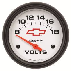 AutoMeter - AutoMeter GM Series Electric Voltmeter Gauge 5891-00406