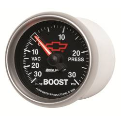 AutoMeter - AutoMeter GM Series Mechanical Boost/Vacuum Gauge 3603-00406
