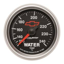 AutoMeter - AutoMeter GM Series Mechanical Water Temperature Gauge 3632-00406