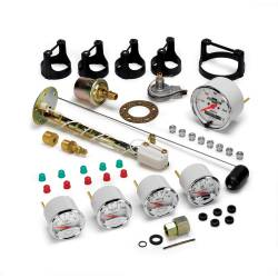 AutoMeter - AutoMeter Arctic White Street Rod Kit 1302-00408