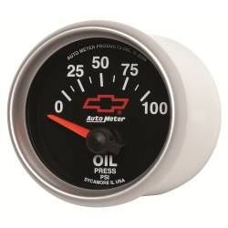 AutoMeter - AutoMeter GM Series Electric Oil Pressure Gauge 3627-00406