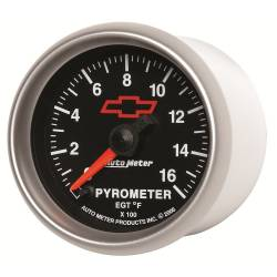 AutoMeter - AutoMeter GM Series Electric Pyrometer Gauge Kit 3644-00406