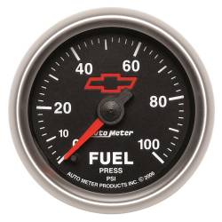 AutoMeter - AutoMeter GM Series Electric Fuel Pressure Gauge 3663-00406