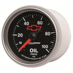 AutoMeter - AutoMeter GM Series Electric Oil Pressure Gauge 3653-00406