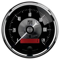 AutoMeter - AutoMeter Prestige Series Black Diamond Electric Programmable Speedometer 2086