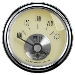 AutoMeter - AutoMeter Prestige Series Antique Ivory Mechanical Water Temperature Gauge 2037