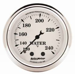 AutoMeter - AutoMeter Old Tyme White Mechanical Water Temperature Gauge 1632