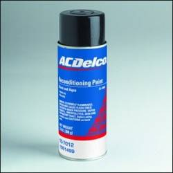GM (General Motors) - 1051499 - GM/AC Delco Trunk Reconditioning (Splatter) Paint 13 Oz. Aerosol - Black / Aqua Color