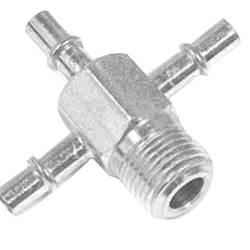 "Paragon - 14020680 - Intake Manifold Vacuum Fitting - 3/8"" NPT  - With  Three 1/4"" Hose Nipples"