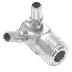 "Paragon - 3891524 - Intake Manifold Vacuum Fitting - 3/8"" NPT And Two 1/4"" Vacuum Nipples"