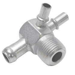 "Paragon - 3891526 - Intake Manifold Vacuum Fitting - 3/8"" NPT And One 3/8 Hose Nipple, Two 1/4"" Hose Nipples"