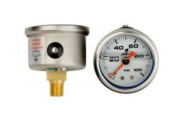 Aeromotive - AEI15633 - 0-100 psi Fuel Pressure Gauge