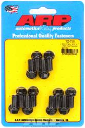 "ARP - ARP1001101 - ARP Header Bolt Kit- Chevy Small Block - 3/8""X .750""- Black Oxide- 6 Point Nuts-Qty.-12"