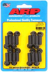 "ARP - ARP1001112 - ARP Header Bolt Kit- Chevy Big Block - 3/8""X 1.000""- Black Oxide- 6 Point Nuts-Qty.-16"