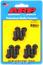 "ARP - ARP1001207 - ARP Header Bolt Kit- Universal Application - 3/8""X .750""- Black Oxide- 12 Point Nuts-Qty.-12"