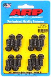 "ARP - ARP1001208 - ARP Header Bolt Kit- Universal Application - 3/8""X .750""- Black Oxide- 12 Point Nuts-Qty.-16"