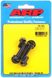 ARP - ARP1301602 - ARP Fuel Pump Bolt Kit- Chevy- Black Oxide- 6 Point Head