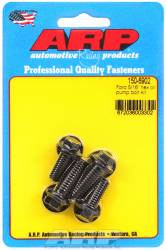 "ARP - ARP1506902 - ARP Oil Pump Bolt Kit- Ford - 3/8"" & 5/16"" (4 Piece Kit) - Black Oxide- 12 Point"