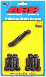 ARP - ARP1942101 -ARP Intake Manifold Bolt Kit- Pontiac 350-400- Black Oxide- 12 Point Head