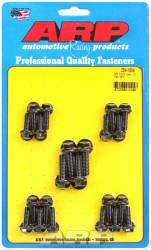 ARP - ARP2541804 -ARP Oil Pan Bolt Kit- Ford Small Block- Early Models (8Pack)-Black Oxide- 6 Point