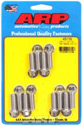 "ARP - ARP4001109 - ARP Header Bolt Kit- Universal Application - 3/8""X 1.000""- Stainless Steel- 6 Point Nuts-Qty.-12"