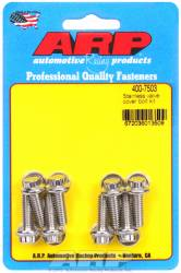 "ARP - ARP4007503 - ARP Valve Cover Bolt Kit - For Cast Aluminum Covers- 1/4""-20 X .812"" - Stainless Steel - 12 Point Head-Qty.-8"