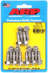"ARP - ARP4007602 - ARP Valve Cover Stud  Kit - For Cast Stamped Steel Covers- 1/4""-20 X 1.170"" - Stainless Steel - 6 Point Head-Qty.-14"