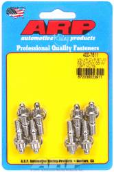 "ARP - ARP4007611 - ARP Valve Cover Stud  Kit - For Cast Stamped Steel Covers- 1/4""-20 X 1.170"" - Stainless Steel - 12 Point Head-Qty.-8"