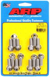 "ARP - ARP4201101 - ARP Header Bolt Kit- Buick 350-455 - 3/8""X1.670""- Stainless Steel- 6 Point Nuts-Qty.-14"