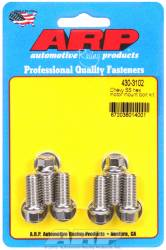 ARP - ARP4303102 - ARP Motor Mount Bolt Kit- Chevy, Mount To Block- Stainless Steel- 6 Point Head