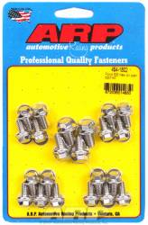ARP - ARP4541802 - ARP Oil Pan Bolt Kit- Ford 289-302-351C-351W- Stainless Steel- 6 Point