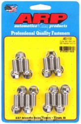 "ARP - ARP4801101 - ARP Header Bolt Kit- Oldsmobile V8 - 3/8""X 1.670""- Stainless Steel- 6 Point Nuts-Qty.-14"