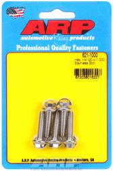 "ARP - ARP6211000 - ARP Bulk Fasteners 1/4""-20 X 1.00"" Stainless, Hex Head, 7/16"" Wrenching - 5 Pack"