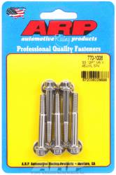 ARP - ARP7701006 - Metric Thread Bolt Kit, M6 x 1.00, 45mm UHL, 18mm Thread Length, 27mm Grip Length, 8mm Wrenching, Stainless Steel, 12 Point, 5 Pack