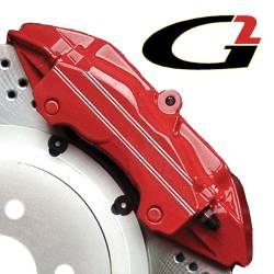 G2 USA - G2160 - Red High Temperature Brake Caliper Paint System Set